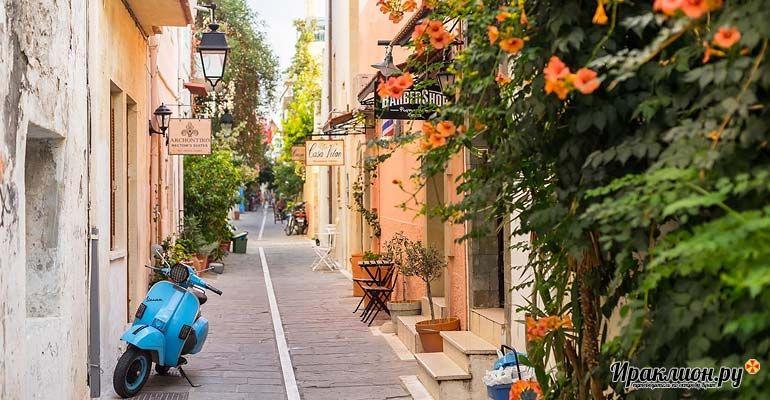 Улочки Ретимно. Крит, Греция.