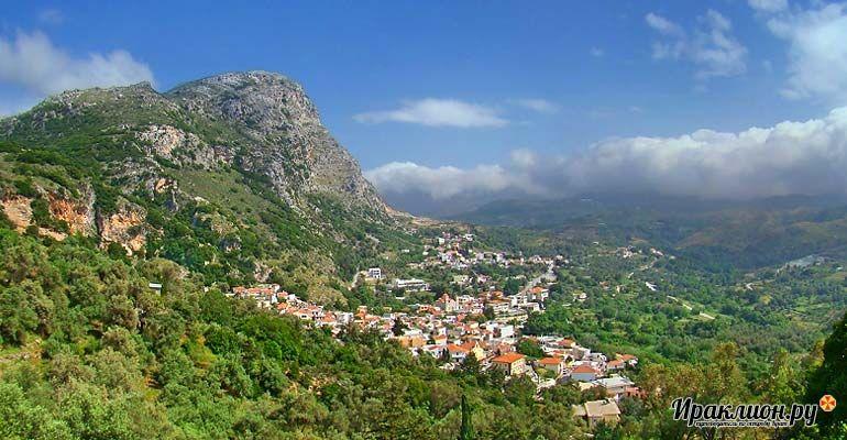Традиционные критские деревни. Крит, Греция.