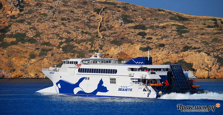 Паром Seajets Masterjet на Крите