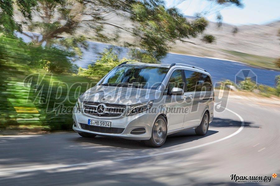 Микроавтобус Mercedes Viano для приватных экскурсий с частным гидом
