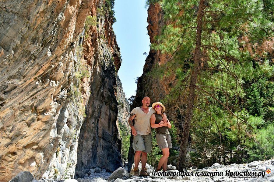 Фото туристов: в Самарийском ущелье вместе с Ираклион.ру. Крит, Греция.