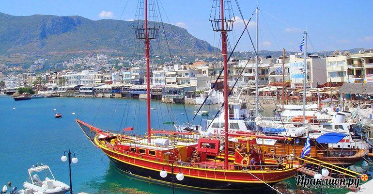 Отправиться в путешествие на пиратском корабле.