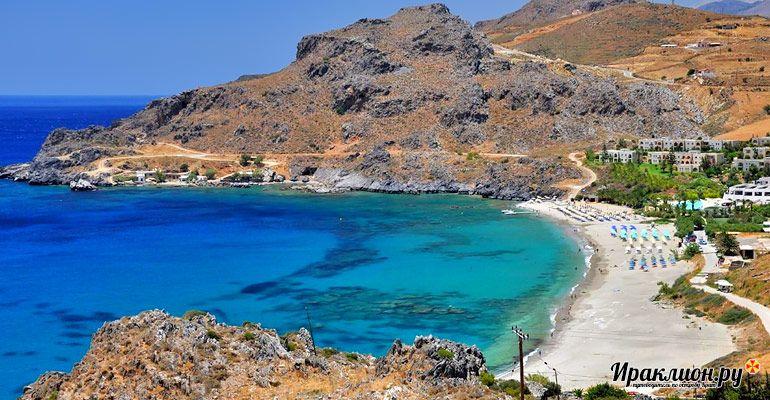 Обед в таверне или отдых на пляже? Крит, Греция.