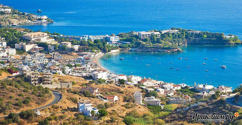 Курорт Агия Пелагия: идеален для тихого и спокойного отдыха. Крит, Греция.