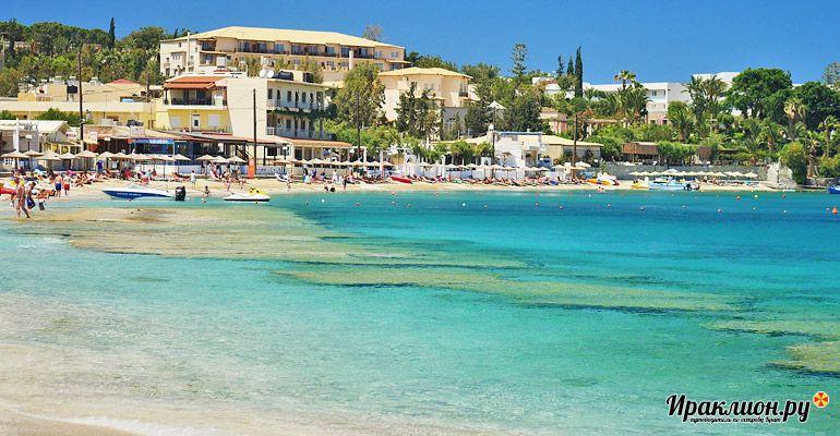 Как только пляжи вас отпустят - отправляйтесь из Агии Пелагии на экскурсии по Криту и Санторини!