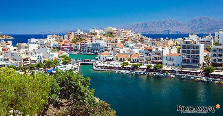 Поездка в Агиос Николаос: озеро Вулизмени. Крит, Греция.