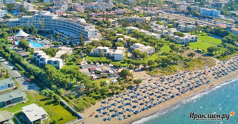 Отдых в Амударе: пляжный курорт, который отлично подходит для путешествий по острову. Крит, Греция.