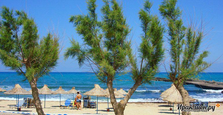 Отпуск в Аниссарасе: солнце, море, пляж и поездки по всему острову. Крит, Греция.