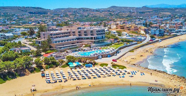 Коккини Хани: отличное место для отдыха на северном побережье острова. Крит, Греция.