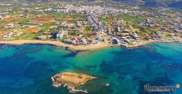 Малья: пляжный отдых с возможностью удобно путешествовать. Крит, Греция.