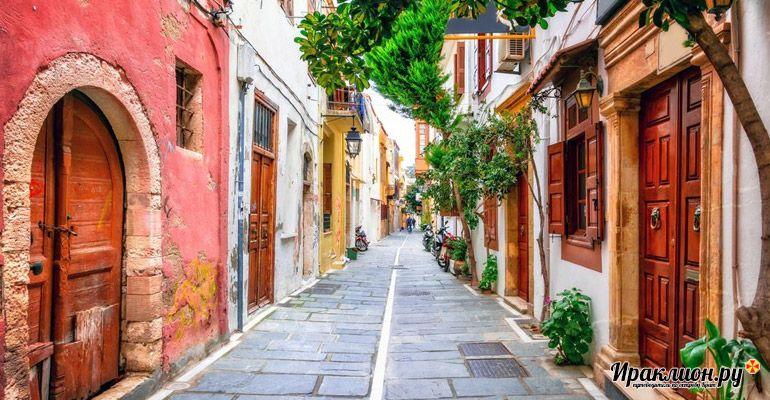 Улочки старого города Ретимно. Крит, Греция.