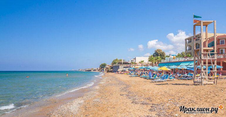 Сфакаки: отдых у моря. Крит, Греция.