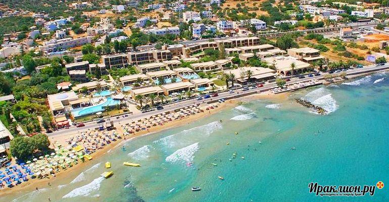 Сталида - прибрежный курорт для насыщенного отдыха на острове. Крит, Греция.