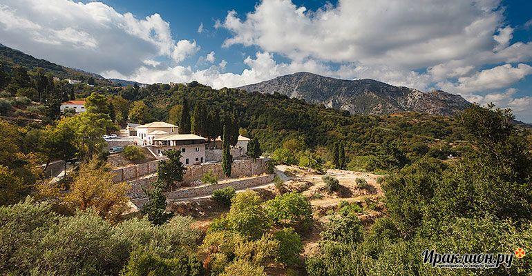 Экскурсия в монастырь Кера Кардиотисса. Крит, Греция.