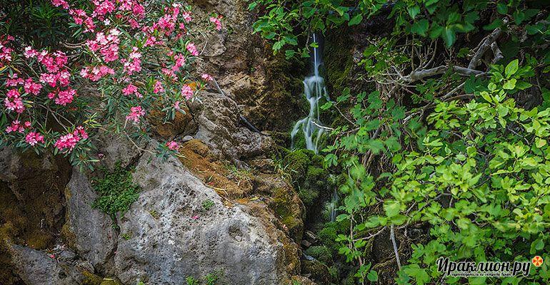 Экскурсия в Курталиотское ущелье. Крит, Греция.