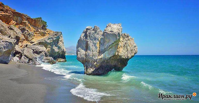 Каменное сердце Превели. Крит, Греция.