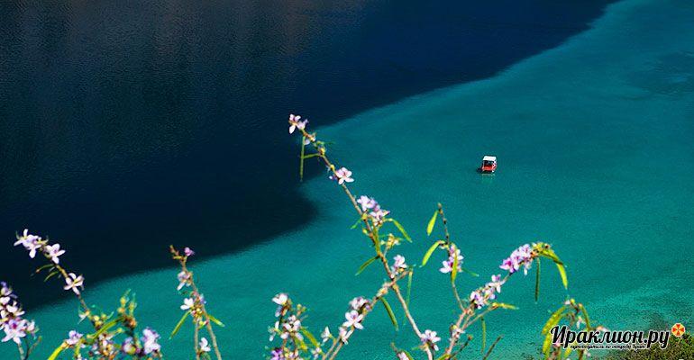 Поездка на озеро с черепахами - бездонное озеро Курнас. Крит, Греция